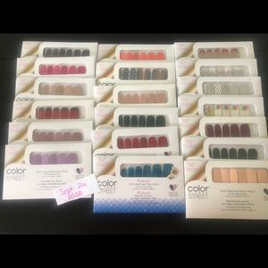 19 color street nail sets
